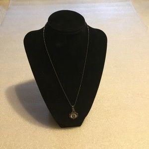 Jewelry - Antique sterling silver Mother Mary necklace